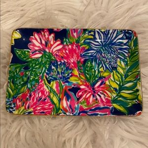 Lilly Pulitzer colorful plate
